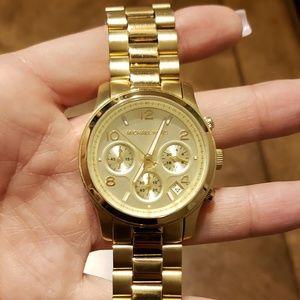 MICHAEL Kors goldtone large face watch